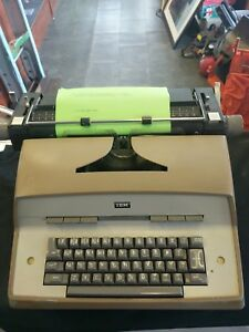 Ibm Electric Typewriter Working Well