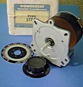 Superior Electric 217cu Powerstat Variable Transformer 240v 1 Phase 5a Nos