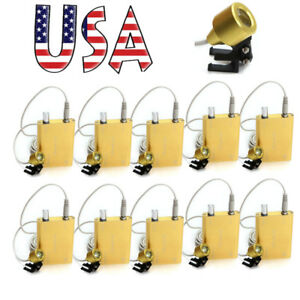 10pcs Medical Headlight Portable Led Head Light Lamp For Dental Surgical Loupes