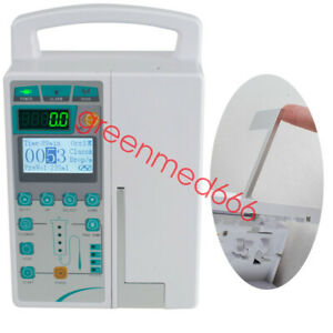 Infusion Pump Iv Fluid Equipment Lcd Alarm Patient Monitor Kvo Purge gift Usa