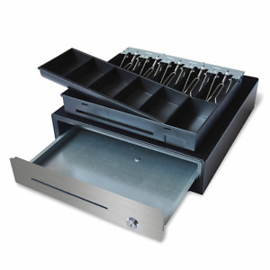 16 Stainless Steel Front Heavy Duty Pos Usb Interface Cash Drawer W 5b5c Black