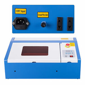 Upgraded 40w Co2 Laser Engraver Cutting Machine Crafts Cutter Usb Interface Rok