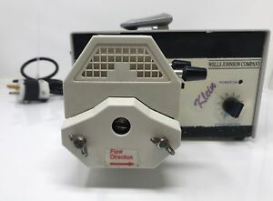 Wells Johnson Klein Peristaltic Anesthesia Infiltration Pump System Dual Head