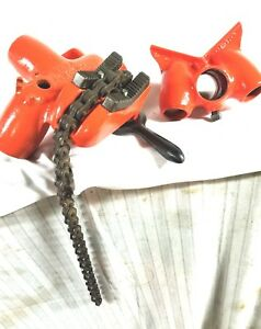 Ridgid Model 56a Portable 1 8 To 6 Chain Pipe Vise 560 With 16 Pipe Support