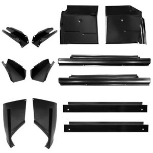 Kit 60 66 Chevy Truck Inner Outer Rockers Cab Corners Floor Pans Supports