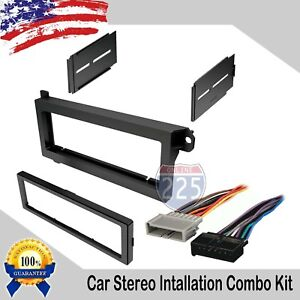 Car Radio Stereo Dash Install Kit Harness 1974 2003 Chrysler Plymouth Dodge Jeep