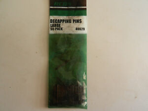 RCBS Decapping Pins;  Pack of 50;  LARGE;  49629