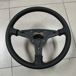 Porsche 944 Sports Steering Wheel Leather 380 Mm With Elevated Hub 94434708403