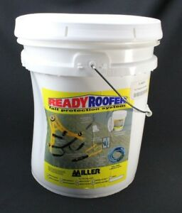 Honeywell Complete Roofer s Fall Protection System 25 ft Miller