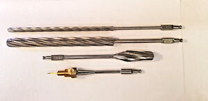 Orthopedic Surgical Bone Reamers And Step Drill Bit Used