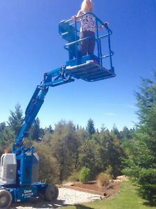 2006 Genie Z34 22n Electric Boom Lift 40ft Working Height 22ft Of Reach