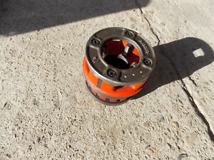 Ridgid 1 1 4 Npt 12r Die Head For Pipe Threader Very Nice Barely Used