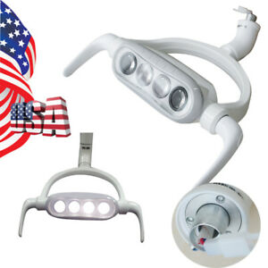 Bright 15w Dental Led Lamp Oral Light 4 Led For Dental Chair Unit 8000 25000lux