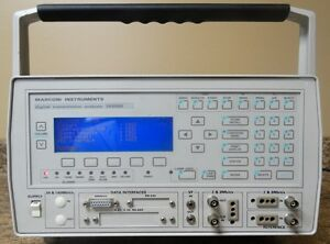 Marconi Instruments 2850bs Digital Transmission Analyzer