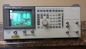 Hp Agilent Keysight 8922s Gsm Ms Service Test Set passes Selftest