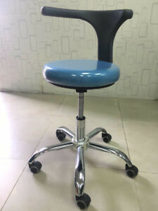 Dental Medical Dentist s Stool Doctor s Stool Adjustable Chair Pu Leather A1