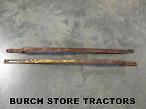 Pair Of 3 Point Hitch Lift Arms Rods For Farmall C Super C 200 230 Tractors