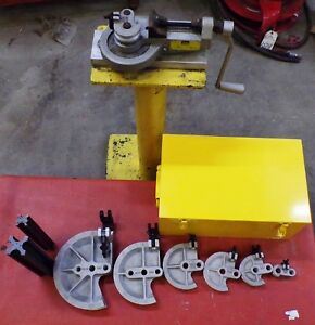 Parker Tubing Bender With Accessories Model 412