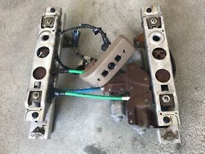2006 Gm 6 Way Power Seat Track Set Aluminum With Switch Wiring