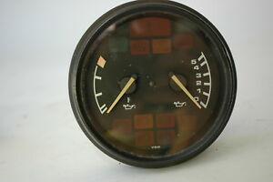 Porsche 993 Oil Temperature Pressure Gauge 99364110300 Ss 993641103x