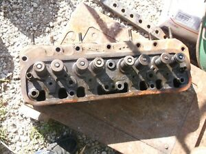 International Farmall M Super M Mta Redone Cylinder Head 8060db Ih Farm Tractor