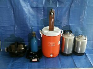 Stainless Steel Beer Kegs Co2 Tank And Despenser