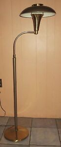 Vintage Laurel Retro Mid Century Era Ufo Floor Lamp Nice