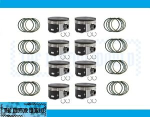 Gm Chevy 4 8 5 3 2010 2014 Hypereutectic Flat Top Pistons And Rings