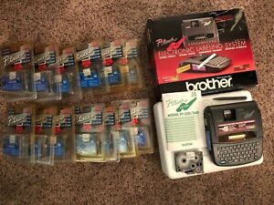 Brother Pt 320 P touch Extra Labeling System Label Maker Printer