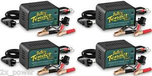 4 Pack Battery Tender Plus 12 Volt 1 25 Amp Battery Charger 021 0128 4x