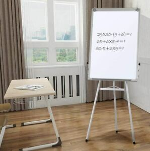 Dry Erase Easel 36x24 Stand Board 3x2 Ft Portable Magnetic Tripod Flipchart Home