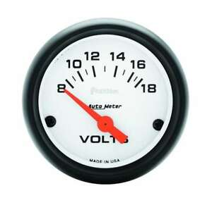 Auto Meter Phantom 2 1 16in Voltmeter 8 18 Volts