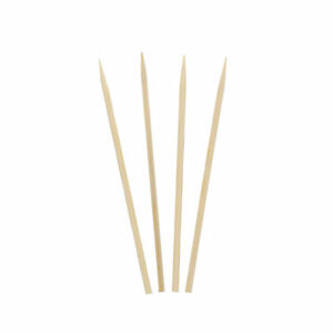 Royal 4 Round Bamboo Meat And Vegetable Skewers Case Of 19 200 R804