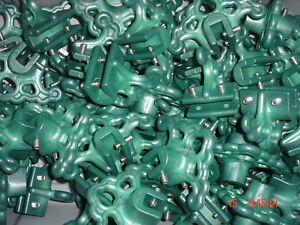 20 New Green Snow Stops Guard Lexan Standing Seam Metal Roofing