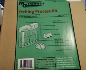 Mg Chemicals 416 es Etching Process Kit For Etching Copper Clad Circuit Boards