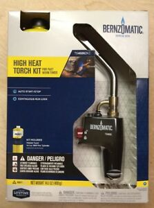Bernzomatic Ts4000zkc High Heat Torch Kit