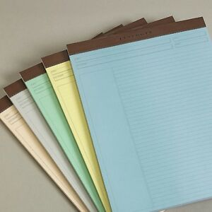 Levenger Freeleaf Multicolored Annotation Ruled Note Pads 5 Letter ads5570