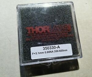 Thorlabs 350330 a F 3 1mm 0 68na 350 600 Nm Unmounted Geltech Aspheric Lens
