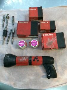 Hilti Dx600n Powder Actuated Fastener Install Tool Accessories