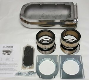 New S5233 Dual Carb Application Air Cleaner Scoop