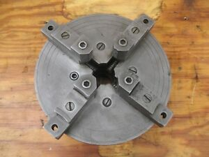 Antique Lodge And Shipley Lathe 4 Jaws Chuck