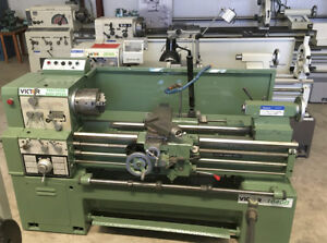 Victor 1640b Lathe 16 Swing 40 Between Centers
