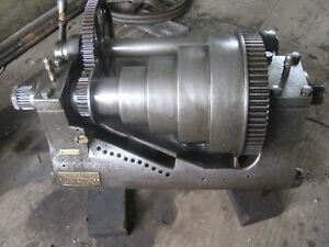 Lodge And Shipley Antique Lathe Head Stock