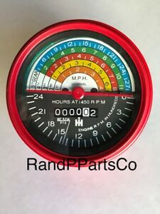 Blemished Paint Tachometer For Farmall Ih 400 450 W400 W450 Gas And Lp 364393r91