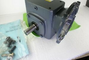 New Boston Speed Reducer F718 60 b5 g 60 1 Ratio 1750 Rpm Right Angle