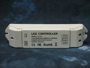 T3 cv Receiver Constant Voltage Controller Single Color Ct Rgb Led Striplighting