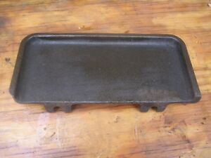 Cincinnati Antique Lathe Tray From Early 1900 To 1910