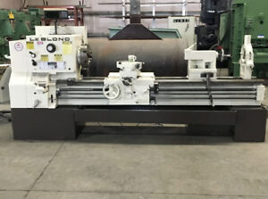 Leblond Lathe 26 Swing 2 Hollow Spindle 80 Between Centers