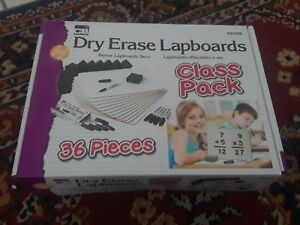 Charles Leonard 35036 Lapboard Class Pack Dry Erase Boards 9 X 12 White