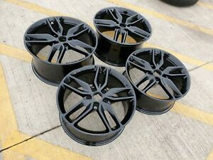 18 Ford Mustang Gt Oem 2018 Black Wheels Rims Tires 2015 2016 2017 2019 New